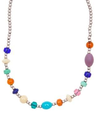 Sin Receta Collar Cristales Multicolor y Bolitas