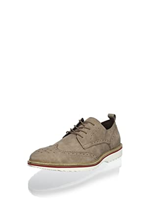 Kenneth Cole REACTION Men's Media Hype Wingtip Oxford (Tan)