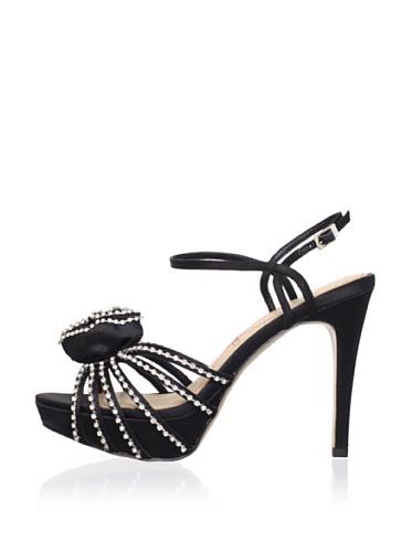 Le Soir Pour La Victoire Women's Hollyn Platform Sandal (Black)