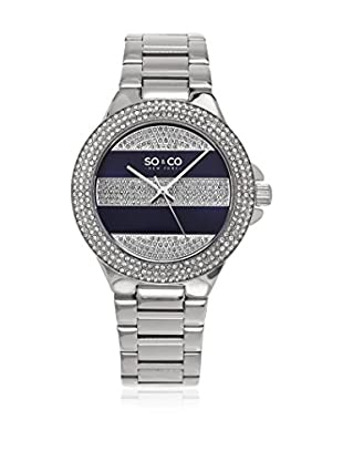 SO&CO New York Reloj con movimiento cuarzo japonés Woman GP16035  39 mm