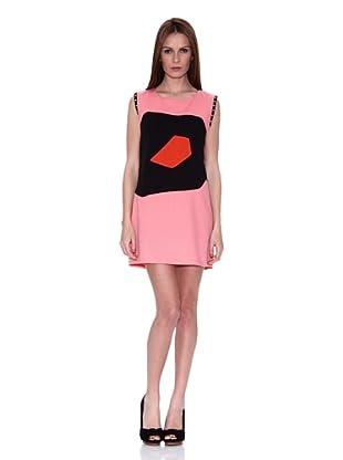 HHG Vestido Maureen (Rosa / Negro / Naranja)