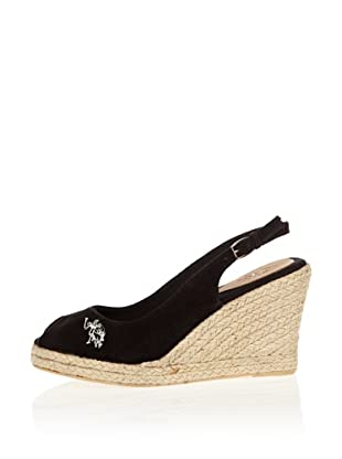 US Polo Assn Wedges Elena (Schwarz)