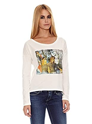 Pepe Jeans London Camiseta Manie (Blanco)