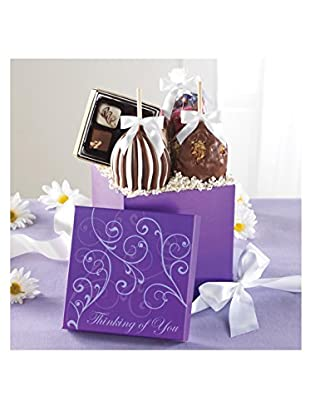Mrs. Prindable's Thinking of You Caramel Apple Gift Set