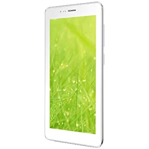 Lava Ivory S Tablet (7 inch, 4GB, Wi-Fi+3G+Voice Calling), White