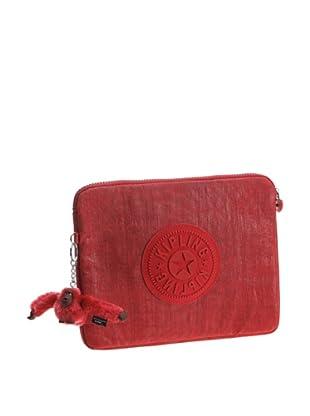 Kipling Funda iPad Santa Rosa (Rojo)