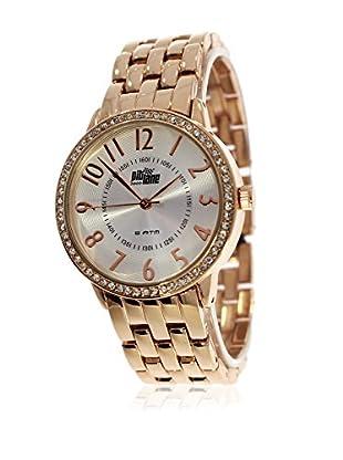 Pit Lane Uhr mit Miyota Uhrwerk Pl-4008-3 rosé 38 mm
