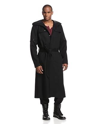 Rochambeau Men's Duster with Hood (Carbon)