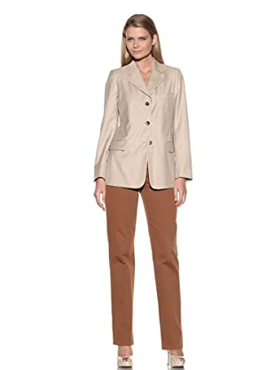 Loro Piana Women's 3-Button Jacket (Dove)