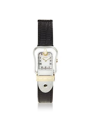 Fendi Women's F372241 Black Mother of Pearl Leather Watch