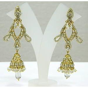Earrings - Fashion Bridal Bollywood Victorian Earrings