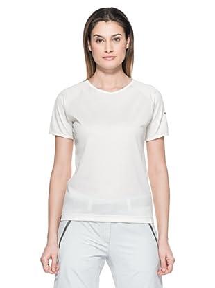 Salewa Camiseta Sporty Dry W (Blanco)