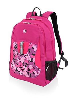 SwissGear Floral Backpack, Plum Pass/ Aloha Print