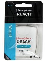 Johnson & Johnson Reach Dental Floss, Waxed-Unflavored 1 each by Johnson & Johnson