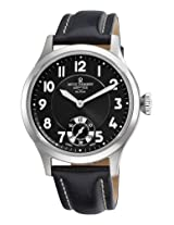 Revue Thommen Men's 16061-3537 Airspeed XLarge Retro Analog Display Mechanical Hand Wind Black Watch