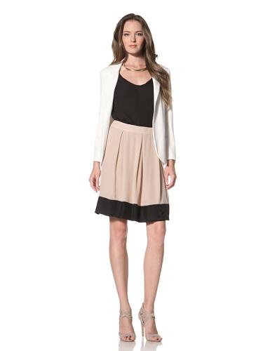La Fee Verte Women's Pleated Skirt (Blush)