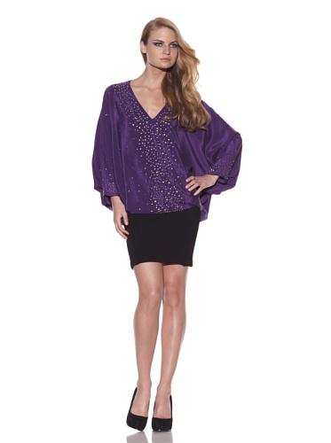 Foley + Corinna Women's Nailhead Tunic (Purple)
