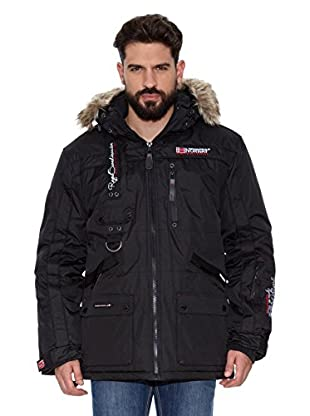 Geographical Norway Abrigo Corto Avoriaz Men Repeat 1 (Negro)