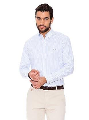 Arrow Camisa Brooke (azul / blanco)