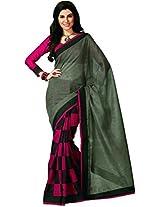 e-VASTRAM Women Bhagalpuri Printed Saree
