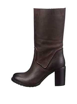 Buffalo London R 0205 VULCANE 135446 - Botas de cuero para mujer (Marrón)