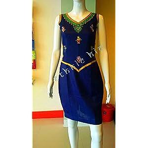 EthniChic Hand painted Short Dress