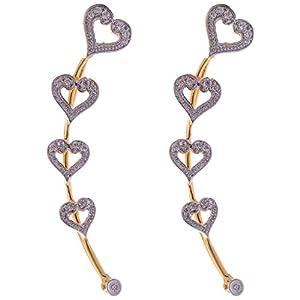 Naksh Fashion Jewellery Ear Cuffs