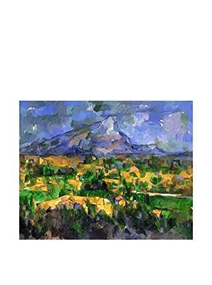 Legendarte Leinwandbild Mont Sainte-Victoire di Paul Cezanne