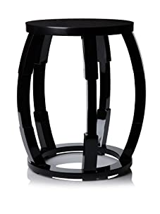 Tribeca Lacquered End Table (Black)