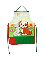 Digitally Printed Kids Apron For 1-5 Years Old,Cotton,18x12 Inch,300TC,KAPS-170