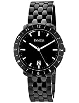 Bulova Accutron II Analog Black Dial Men's Watch - 98B218