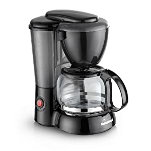 Sunflame SF-702  6-Cups 550-Watt Coffee Maker (Black)