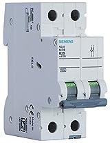 Siemens 25A 2 Pole Miniature Circuit Breaker (White, 1-Piece, 5SL62257RC)