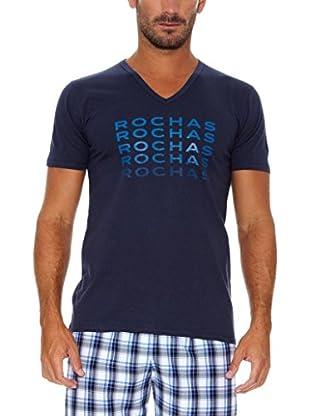 Rochas París Camiseta Manga Corta