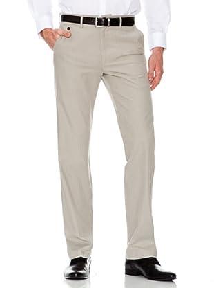 Dockers Pantalón Recto Tejido Mini Espiga (gris verdoso)