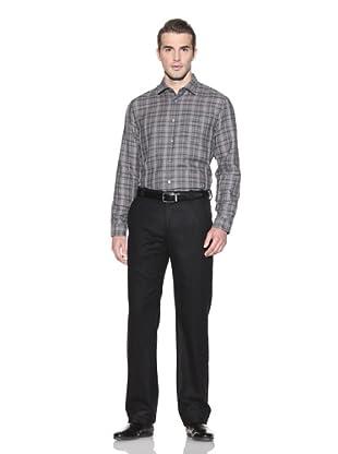 John Varvatos Collection Men's Slim Fit Shirt (Light Grey)