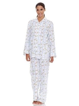 Plajol Pijama Señora Fantasía (Multicolor)