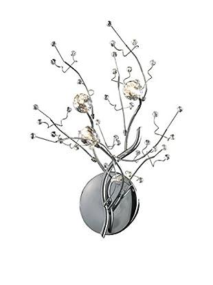 Artistic Lighting Viviana Collection 3-Light Sconce, Polished Chrome