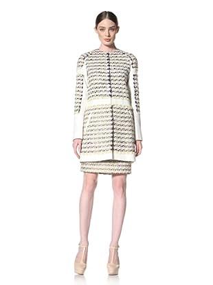 Peter Som Women's Tweed Duster