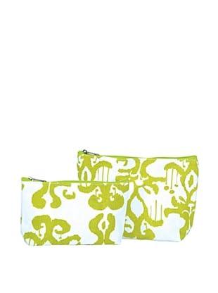RockFlowerPaper Persia Lime Zip Bags (Set of 2)