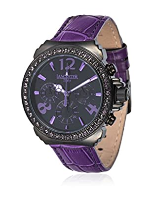 Lancaster Reloj de cuarzo Woman Pillo Fantasy Black 40.0 mm