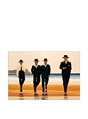 Artopweb Panel Decorativo Vettriano The Billy Boys 60x 90 cm Bordo Nero