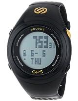 Soleus digital GPS Fit Black Unisex sports watch - SG100-020