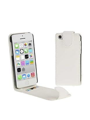 Unotec Funda Flip Vertical Para Iphone 5C Blanco
