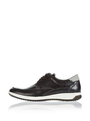 Fretz Men Zapatos Cleburne (Negro / Gris)