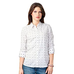 Patterned Regular Fit Shirt