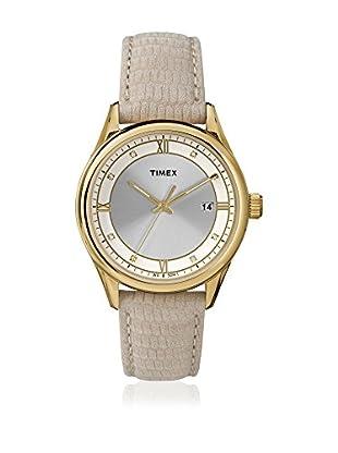 TIMEX Reloj de cuarzo Woman Classic Champán 36 mm