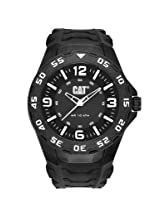 Caterpillar Analogue Black Dial Men's Wristwatch LB.111.21.131