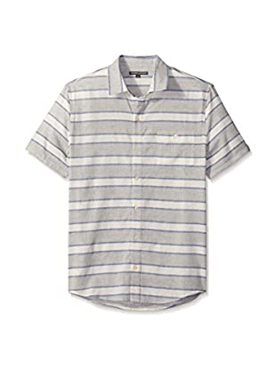 Threads 4 Thought Men's Striped Short Sleeve Button-Down