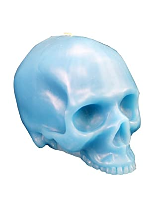 D.L. & Co. Skull Candle, Blue, Medium